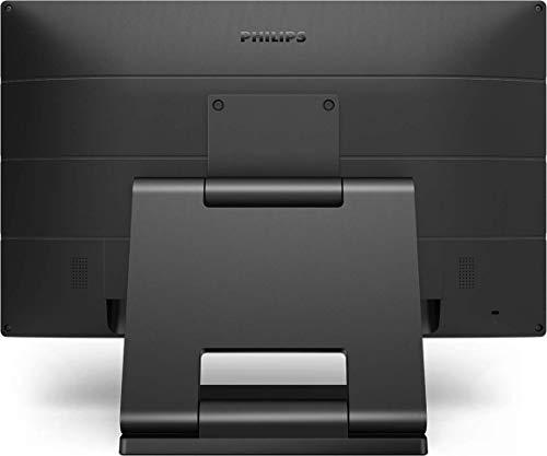 Philips 222B9T - 22 Zoll Touch Monitor, höhenverstellbar (1920x1080, 60 Hz, VGA, DVI, HDMI, DisplayPort, USB Hub) schwarz