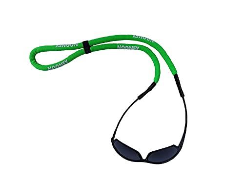Nooney Wassersport-Brillenband schwimmfähig mit Auftriebskörper (neongrün)