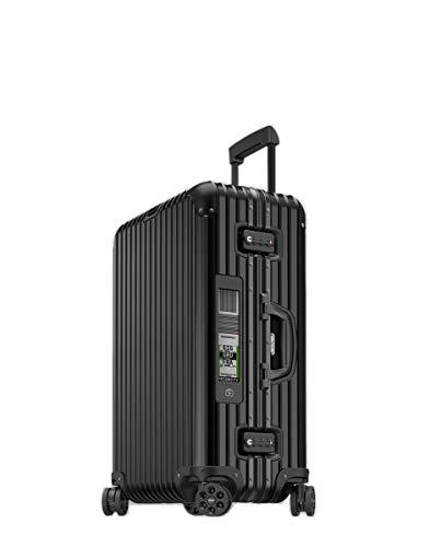 RIMOWA - Maleta Grande Rimowa TOPAS Stealth Electronic Tag rígida Negra Capacidad 97L