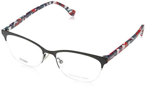 Fendi Brillengestelle FF 0175 Rechteckig Brillengestelle 52, Braun