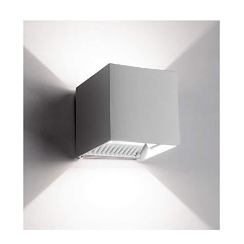 INHDBOX LED Exterior Wall Lamp,4.7 Adjustable Outdoor Porch Wall Mounted Lighting Fixtures,12W Warm Light 6000K ?Aluminum Waterproof IP65