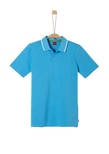 s.Oliver Junior Jungen 402.10.005.13.130.2038361 Polohemd, 6431 Blue, XL
