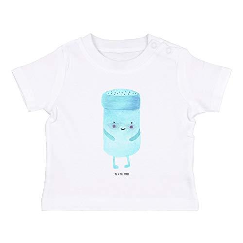 Mr. & Mrs. Panda , 3-6 Monate Baby T-Shirt Bestfriends-Salt - Farbe Weiß