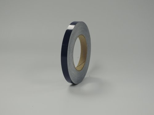 """1/2"""" 3M Vinyl Striping 150' 25 Colors Available (Dark Blue)"""