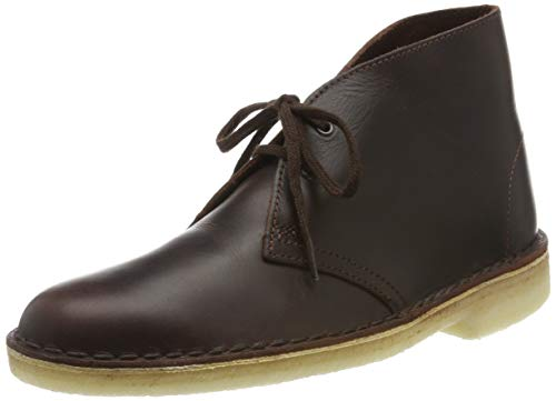 Clarks Damen Desert Boots, Braun (Chestnut Leather), 37 EU