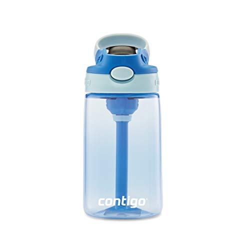 Contigo - 2126114 Contigo AUTOSPOUT Water Bottle, 14 oz, Cotton Candy & Gummy