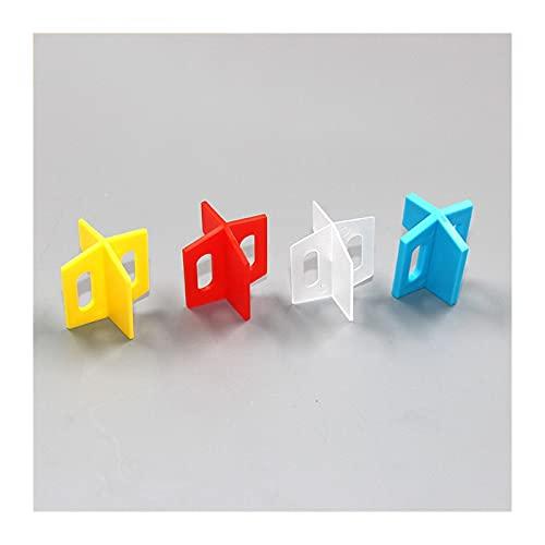 XYXXBB 100 unids 1 mm Sistema de nivelación de azulejo en Forma de 1 mm Levelador de Pisos Espaciador de la Base para la Pared de la Pared de la Pared Corrección de Rack