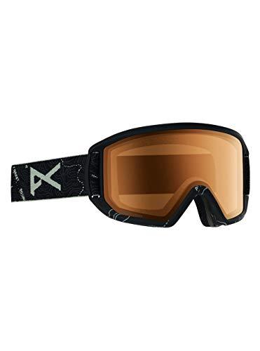 Anon Herren Relapse Snowboard Brille, Topo Black/Sonarnight