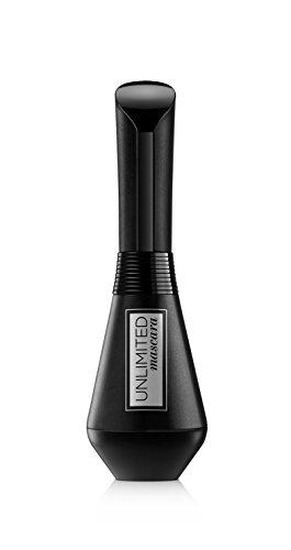 L'Oréal Paris Mascara, Schwarze Wimperntusche für intensives Wimpern-Lifting, bis zu 24 h Halt und Knick-Bürste, Unlimited Mascara, Nr. 00 Schwarz, 1 x 7,4 ml