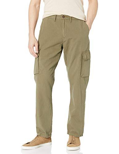 Lucky Brand Men's Ripstop Cargo Pants, Burnt Olive, 36
