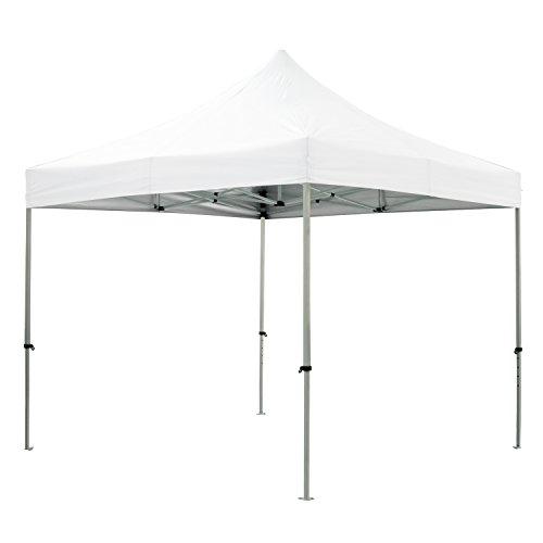 greaden Tent klaptafel wit 3 x 3 m Premium Light – tube 32 mm uit – BÃ C 420D – barnum inklapbaar – gr-1fa33420ao1