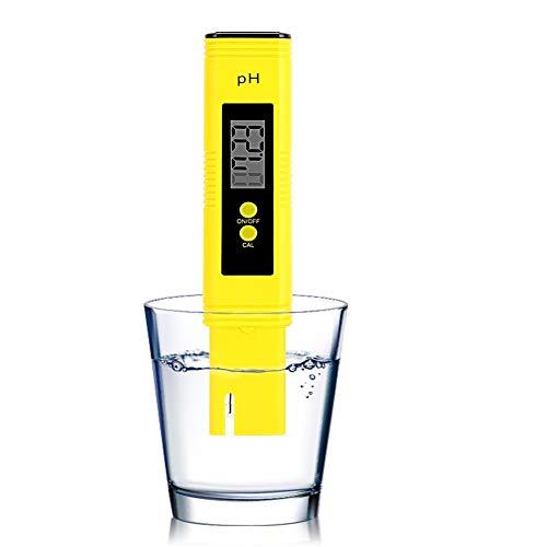 PH Medidor de Agua Digital Resolución 0.01 Probador de PH, Ph TDS Meter con Función de Calibración Automatica Rango de 0.00-14.00 para Agua Potable, Piscinas, Hidroponía, acuarios