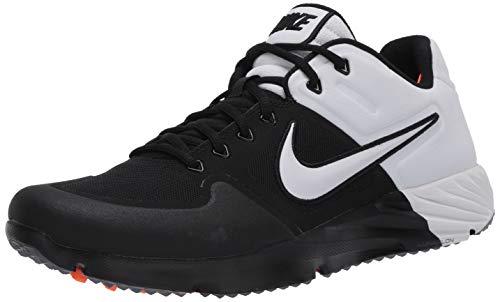 Nike Alpha Huarache Elite 2 Tf Mens Aj6877-004 Size 9 Black/White
