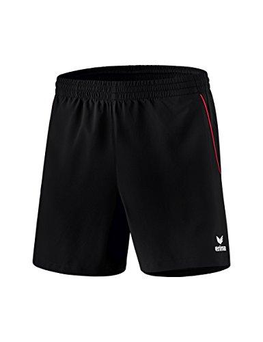 erima Kinder Short Tischtennis Short, schwarz/rot, 164, 1090701