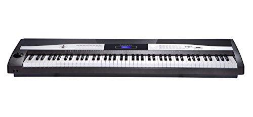 KURZWEIL KA110 YP Pianoforte digitale 88 tasti pesati Bianco/Arancione
