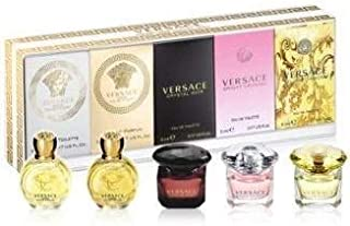 Versace Miniature Variety Collection 5 Piece Mini Set for Women