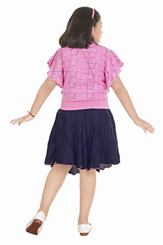 ANG Fashion Girls Party(Festive) Top Skirt (Red Pink Yellow)
