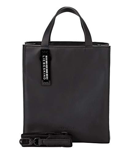 Liebeskind Berlin Damen Paper Bag Tote, black-9999, 11.5x25x20.5 cm