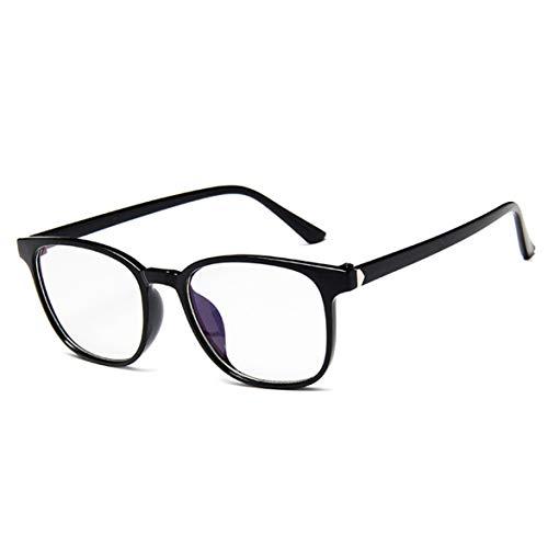 Gafas para protección contra Luz Azul, Retro glasses vogue Marco de gafas unisex para Computadora, Video Juegos, Lectura, Protección de Fatiga Visual y contra Rayos UV