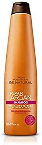 Be Natural, Champú (Argan) - 12 de 350 ml. (Total: 4200 ml.)