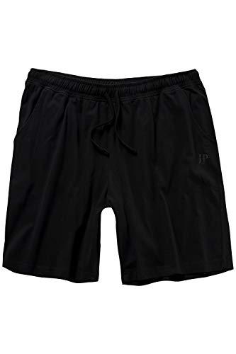 JP 1880 Herren große Größen bis 8XL, Schlafanzug-Hose, Shorts, Kurze Pyjama-Hose, Jogging-Hose aus 100{6695410831c57299ac6be6afbfafe539e6f2bff5e6ebba30b5d289a6e341b285} Baumwolle, Sweatpants schwarz 4XL 708405 10-4XL