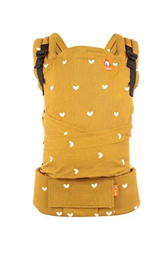 Tula Half Buckle Play - Portabebés Híbrido de Inspiración Asiática con correas para los hombros acolchadas con opción cruzada para bebés de 3, 2 a 20, 4 kg