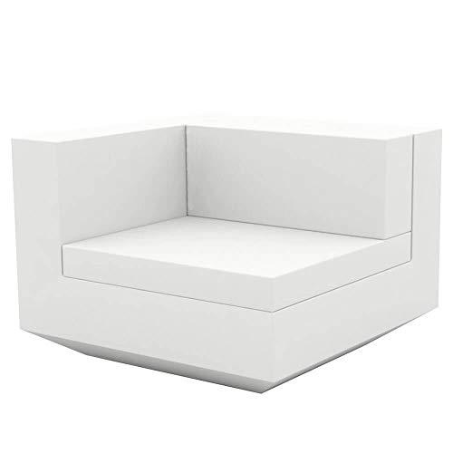 Vondom Vela canapé module droit blanc