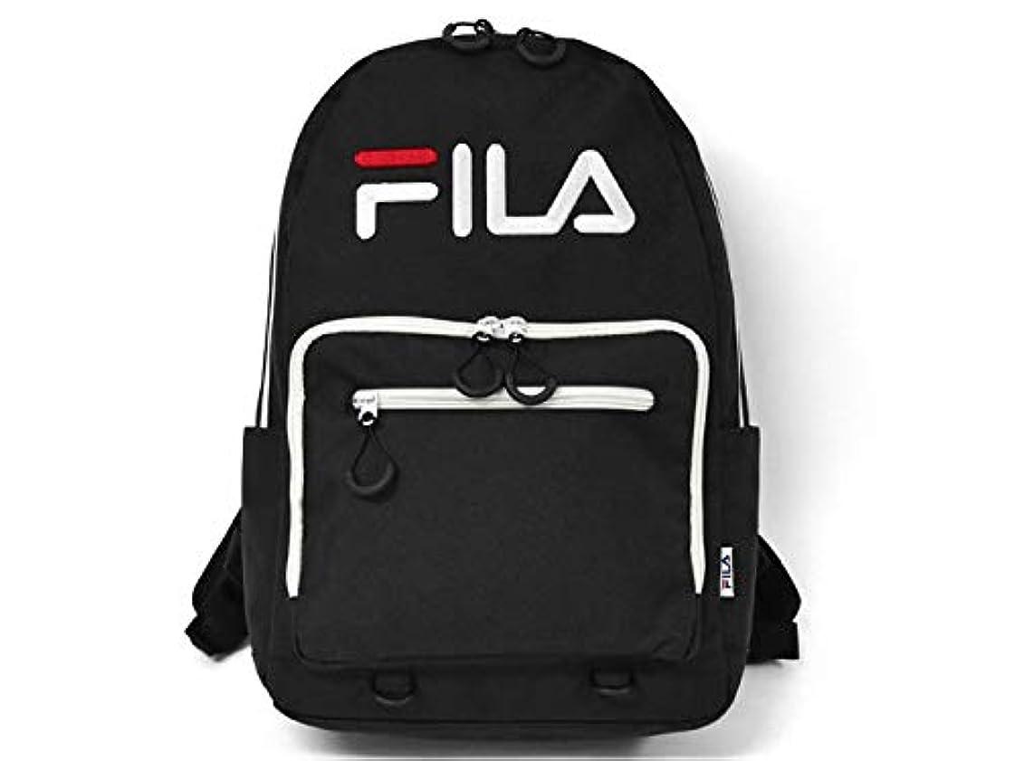 顕微鏡証言習熟度[フィラ] FILA ポリキャンバス スクエアポケット リュック
