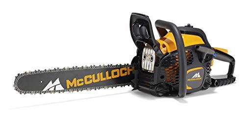 McCulloch Benzin-Kettensäge CS 50S, Motorsäge mit 2100 W Motorleistung, 45 cm Schwertlänge, integrierter Kombischlüssel (Art.-Nr. 00096-73.003.01)
