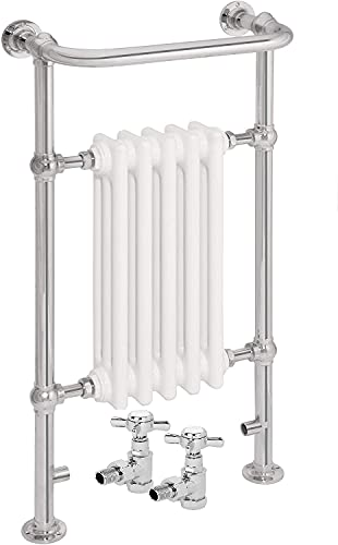 AQUAWORLD Traditional Victorian Style Heated Towel Rails for Bathroom with...