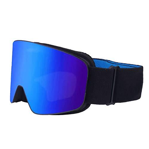 ZDAMN Skischoenen voor kinderen, dubbele anti-condens zandbestendige skibrillen, sneeuwbrillen, anti-condens skiën over bril
