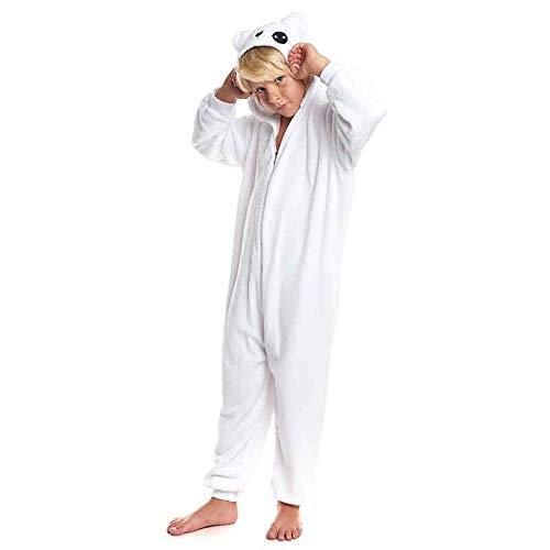 Disfraz Pijama Oso Blanco Infantil Unisex (10-12 años) (+ Tallas Disponibles)