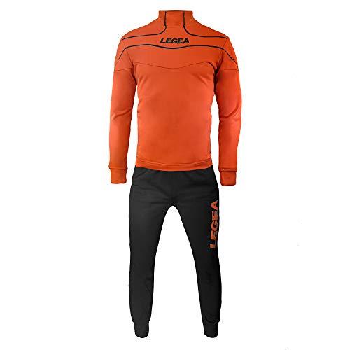 Legea Herren Trainingsanzüge Trainingsjacke Sportanzug Running Fitness Laufen Training Nigeria (L)