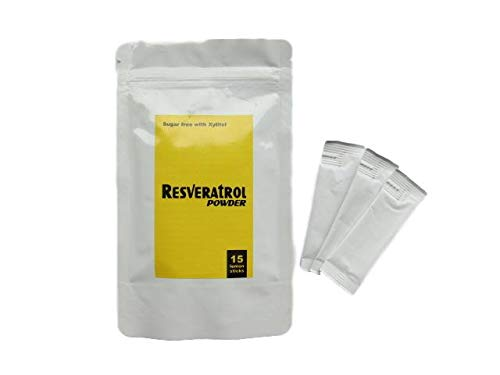 Weltweit einzigartig! Premium Antioxidans Resveratrol Pulver. Schweizer Entwicklung.