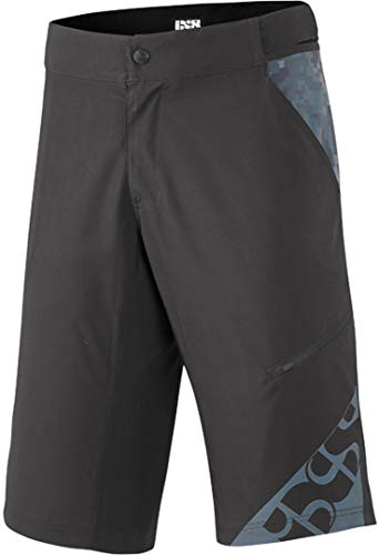 IXS Unisex-Erwachsene Culm Shorts Black S Hose, Schwarz, L