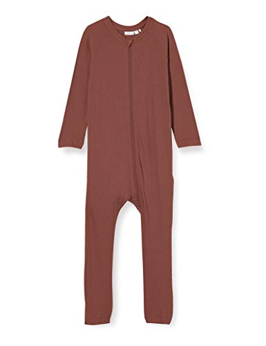 NAME IT NBFRINKA LS WHOLESUIT Noos Conjunto de Ropa Interior para bebés y niños pequeños, marrón, 104 cm