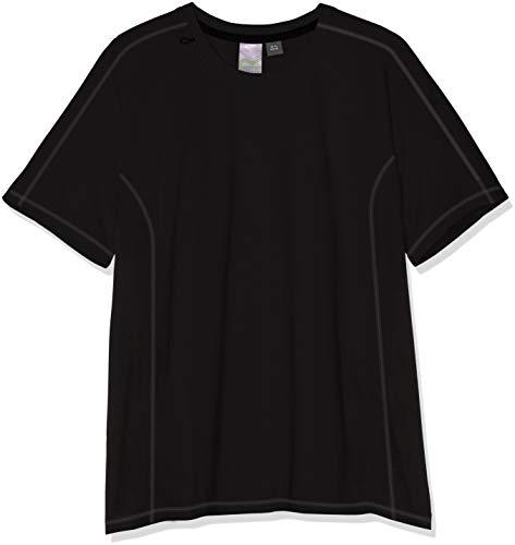 Regatta Beijing Lightweight Ergonomic Quick Wicking Active T-Shirt T-Shirts/Polos/Vests, Hombre, Black/Black, M