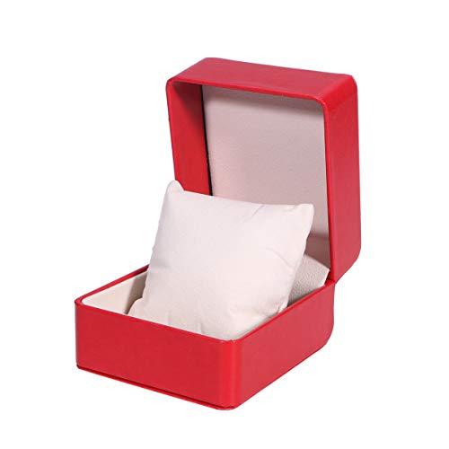 Happyyami Armbanduhr Geschenkbox Armreif Armband Kissen Display Box Schmuckverpackung Schaufenster Schmuck Veranstalter Geschenkbox