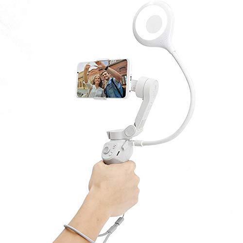 Honbobo USB-Fülllicht für DJI OM 4 / OSMO Mobile 3 / Handy / Computer / Live-Übertragung