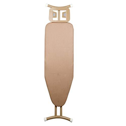 Tabla de Planchar Multifuncional de Escritorio más el tamaño de Piso en negrilla y Estable Tabla de Planchar Tabla de Planchar Multifuncional (Color : Marrón, Size : 123x65cm)