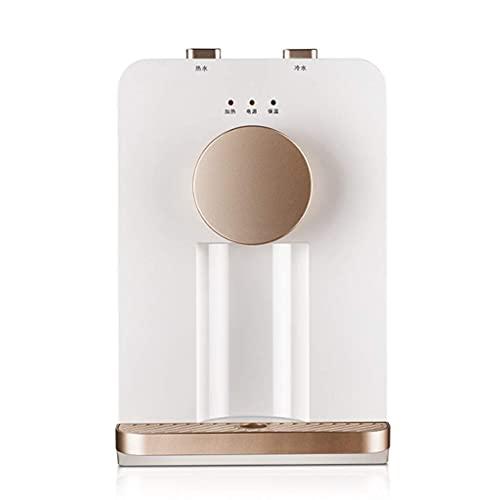 Dispensador de agua Temperatura del hielo Calentador de agua caliente Calor del hielo Enfriamiento de escritorio Caliente Mini Pequeño hogar de ahorro de energía Dormitorio Temperatura del hielo Calen