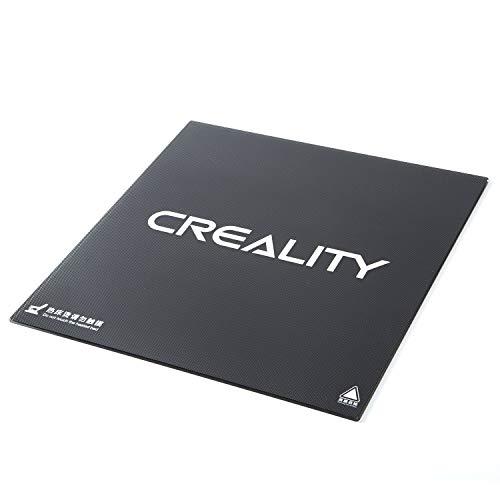 Z.L.FFLZ Parti della Stampante 3D Adesivo per Piattaforma Stampante Accessori Kit per Stampante 3D Lastra di Vetro temprato per Superficie CR-10S CR-XS 310x320x4mm