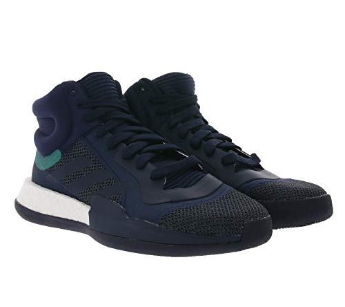 adidas Hombre Marquee Boost Zapatos de Baloncesto Negro, 39 1/3