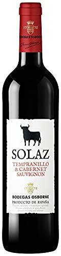 Osborne Solaz Tempranillo & Cabernet Sauvignon Trocken (1 x 0,75l) - Fruchtiger Rotwein aus der spanischen Wein-Region Tierra de Castilla