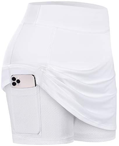 BLEVONH White Pencil Skirt,Girls Fashion A-Line Tu...
