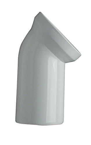 Cornat CKAB4500 WC-Ablaufbogen, 45 Grad, weiß