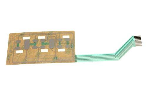 CLAVIER DE COMMANDE SOUPLE POUR MICRO ONDES ROSIERES - 49012071