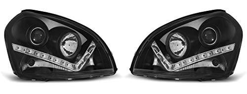 Headlights VR-1347 Front Lights Car Lamps Car Lights Headlights Headlamps Driver And Passenger Side Daylight Black