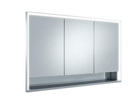 Keuco Royal Lumos Spiegelschrank 14315, 3 Drehtüren, Wandeinbau, 1200mm