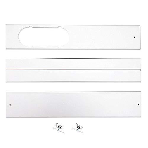 Volwco Fenster Adapter Fenster Kit Platte, Window Kit 3 Fensterabdichtung Kit Platte, Abgasschlauch Fenster-Adapter-Rohrverbinder Für Abluftschlauch-Kit Für Tragbare Klimaanlagen